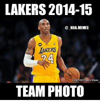 This couldn't be more true! 😂😂😂 Double tap and tag a friend that would think that this is funny!: LAKERS 2014-15  NBA MEMES  AKERS  OUSA TODAY Sports Images  TEAM PHOTO This couldn't be more true! 😂😂😂 Double tap and tag a friend that would think that this is funny!