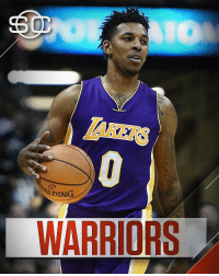 """Los Angeles Lakers, Nick Young, and SportsCenter: LAKERS  ALDING  WARRIORS """"This Just In: Nick Young and the Warriors have agreed to a one-year, $5.2M deal (via Adrian Wojnarowski)"""" 👀🏀 @sportscenter https://t.co/RtB9UdXjgI"""