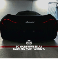 "Bad, Future, and Goals: lamborghini  MILLIONAIRE MENTOR  DO YOUR FUTURE SELF A  FAVOR AND WORK HARD NOW. Who you are in the future depends on what you do today. Here are a few vital things you can do today that your future self will thank you for. Take this checklist and do each step thoroughly. Your life will line up like magic. ✔️Invest in yourself! We spend so much time investing in relationships and this is a good thing. But we cannot forget that investment in ourselves is as important. Take some time now. Start investing on bettering yourself to become a better person, it will attract even better thing to your life. ✔️Decide what your values are and live them every day. A person who has a strong set of beliefs and values is a happy and strong person. A person who does not have a clearly defined set of beliefs and values is tossed about in life like a tiny ship on an angry ocean. There is nothing certain to a person like this except the fact that he will be at the mercy of others ✔️Measure your successes by your own definition of ""success"" Everywhere we are bombarded with images of ""success"" we are told we are successful if we are thin, rich and have power. Well guess what? There are many people with all of those things and most of those people are completely miserable. ✔️Seek forward progress on the path to your goals. Realize that some goals may take years and others, a lifetime. Keep track of your forward progress and give yourself rewards for making it a little further on your path. ✔️Don't stop learning. Learning is the best thing you can do to improve your current and future life! Learn a new skill, language, something! ✔️Create good habits. Good habits are the key to all success. Bad habits are the unlocked door to failure. ✔️Understand that wherever you are, you can always make a new start. It is never too late and things are never too far gone. What you have done in the past is in the past and your future is what you make it. All you have to do is plot your course and go! - Good luck! - future success millionairementor"