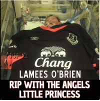 ABSOLUTELY GUTTING NEWS We told you about Lamees O'Brien, a 2 weeks old baby facing a big heart operation. After a brave fight from this little princess, she has sadly passed away. Our prayers our with her and her family.: LAMEES O'BRIEN  RIP WITH THE ANGELS  LITTLE PRINCESS ABSOLUTELY GUTTING NEWS We told you about Lamees O'Brien, a 2 weeks old baby facing a big heart operation. After a brave fight from this little princess, she has sadly passed away. Our prayers our with her and her family.