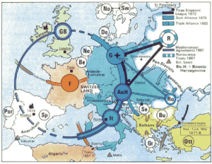 land-of-maps:  Bismarck system of alliances in Europe in 2nd part of 19th century: land-of-maps:  Bismarck system of alliances in Europe in 2nd part of 19th century