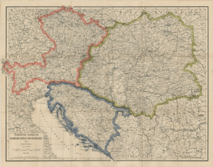 land-of-maps:  Trialist proposal for Austria-Hungary turning it from Dual to Triple Monarchy by elevating Croatia to equal status, proposal from 1906: land-of-maps:  Trialist proposal for Austria-Hungary turning it from Dual to Triple Monarchy by elevating Croatia to equal status, proposal from 1906