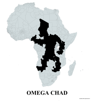 land-of-maps:  Undivided Chad in all its glory.: land-of-maps:  Undivided Chad in all its glory.