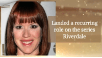 Molly Ringwald celebrates her 49th Birthday today!: Landed a recurring  role on the series  Riverdale Molly Ringwald celebrates her 49th Birthday today!