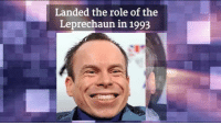 Warwick Davis from movies like Willow and Return of the Jedi turns 47 today!: Landed the role of the  Leprechaun in 1993 Warwick Davis from movies like Willow and Return of the Jedi turns 47 today!
