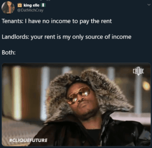Landlords living your paycheck to your paycheck (via /r/BlackPeopleTwitter): Landlords living your paycheck to your paycheck (via /r/BlackPeopleTwitter)