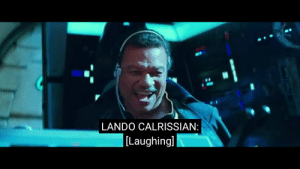 Format, New, and Lando Calrissian: LANDO CALRISSIAN:  Laughingl New format from teaser published 7h ago
