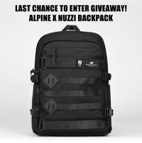 Friends, Monday, and Skate: LAST CHANCE TO ENTER GIVEAWAY!  ALPINE X NUZZI BACKPACK  AlpineDivision  2D ALPINE DIVISION X NUZZI SKATE BACKPACK GIVEAWAY! Follow the steps below to enter. 1. LIKE the photo 2. FOLLOW @thealpinedivision and @ihatespencernuzzi 3. COMMENT tagging 3 friends Winner will be chosen Monday, August 28th