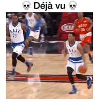Memes, Deja Vu, and 🤖: LAST  Deja vu  vu  ASI Which duo do you miss more? @ballpedia Tags: Durant Russ Wade Bron