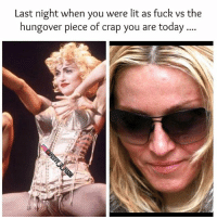 Yep facts go out feeling fab and wake up like the zombie cast from walking dead hahahahah gothampost goingout lit fun hungover walkingdead dead thirsty foodneeded jokes banter meme petty pettyaf pettymemes memesdaily instapic instagram instagood instadaily vibes havefun getinvolved comment tagsomeone: Last night when you were lit as fuck vs the  hungover piece of crap you are today.... Yep facts go out feeling fab and wake up like the zombie cast from walking dead hahahahah gothampost goingout lit fun hungover walkingdead dead thirsty foodneeded jokes banter meme petty pettyaf pettymemes memesdaily instapic instagram instagood instadaily vibes havefun getinvolved comment tagsomeone