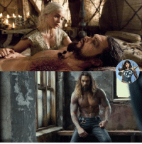 Memes, Jason Momoa, and Strong: Last night's episode of GameofThrones reminded me of how strong of a presence Jason Momoa had on screen! Can't wait to see him as Aquaman in JusticeLeague and his solo film.