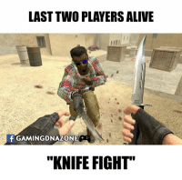 """One of the reasons to play Counter Strike.: LAST TWO PLAYERS ALIVE  f GAMINGDNAZONIEC  """"KNIFE FIGHT"""" One of the reasons to play Counter Strike."""