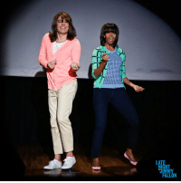 """<p><strong>VIDEO:<a href=""""http://youtu.be/Hq-URl9F17Y"""" target=""""_blank"""">Evolution of Mom Dancing (with Jimmy Fallon and Michelle Obama)</a></strong></p> <p>Okay, so we just couldn&rsquo;t wait until tonight to show you this.<span>In honor of the First Lady&rsquo;s &ldquo;Let&rsquo;s Move&rdquo; campaign, and to encourage parents everywhere to get up and get moving with their kids, Jimmy Fallon and Michelle Obama present the &ldquo;Evolution of Mom Dancing.&rdquo; </span></p> <p><span>(<a href=""""http://In%20honor%20of%20the%20First%20Lady's%20%22Let's%20Move%22%20campaign,%20Jimmy%20Fallon%20and%20Michelle%20Obama%20present%20the%20%22Evolution%20of%20Mom%20Dancing.%22"""" target=""""_blank"""">Click to watch</a>)</span></p>: LAT  GHT <p><strong>VIDEO:<a href=""""http://youtu.be/Hq-URl9F17Y"""" target=""""_blank"""">Evolution of Mom Dancing (with Jimmy Fallon and Michelle Obama)</a></strong></p> <p>Okay, so we just couldn&rsquo;t wait until tonight to show you this.<span>In honor of the First Lady&rsquo;s &ldquo;Let&rsquo;s Move&rdquo; campaign, and to encourage parents everywhere to get up and get moving with their kids, Jimmy Fallon and Michelle Obama present the &ldquo;Evolution of Mom Dancing.&rdquo; </span></p> <p><span>(<a href=""""http://In%20honor%20of%20the%20First%20Lady's%20%22Let's%20Move%22%20campaign,%20Jimmy%20Fallon%20and%20Michelle%20Obama%20present%20the%20%22Evolution%20of%20Mom%20Dancing.%22"""" target=""""_blank"""">Click to watch</a>)</span></p>"""