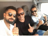 Latest click from the Indian skipper Virat Kohli: Latest click from the Indian skipper Virat Kohli