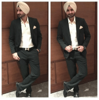 Memes, Harbhajan Singh, and 🤖: Latest click of Turbanator Harbhajan Singh