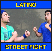 Latinos, Memes, and Street Fights: LATINO  STREET FIGHT Skit from Sunday. I should have a brand new one out tomorrow.