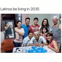 Dank, Funny, and Latinos: Latinos be living in 2035  WAY that guy deserves a medal 😂 • • -Follow @svgnoah For More 💦 • • -Tags: meme memes trayvon funny smile followforfollow ifunny wet omg lmao rofl joke comedy likeforlike savage svgnoah lol laugh nochill offensive hood dank relatable edgy femanist filthyfrank donaldtrump optic