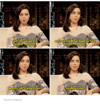 People talk about how Chris Pratt IS Andy, well I think it's just as true that Aubrey Plaza IS April.: laugher out loud.  Source: orhgasm  But did one time, laugh so hard  So there's that. People talk about how Chris Pratt IS Andy, well I think it's just as true that Aubrey Plaza IS April.
