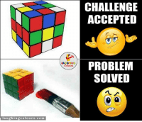 Indianpeoplefacebook, Sow, and Challenge Accepted: laughing colours. co m  LA GHING  CHALLENGE  ACCEPTED  PROBLEM  SOWED Desipanti.. :P