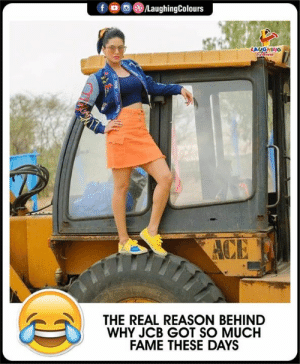 #JCB: LAUGHING  THE REAL REASON BEHIND  WHY JCB GOT SO MUCH  FAME THESE DAYS #JCB