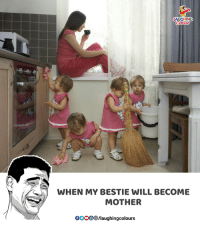 Indianpeoplefacebook, Mother, and Will: LAUGHING  WHEN MY BESTIE WILL BECOME  MOTHER  OOOOlaughingcolours