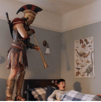Club, Tumblr, and Blog: laughoutloud-club:  A Roman soldier wakes the camp to signal a Gaulic raid (circa 40 BCE)