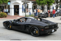 Club, Ferrari, and Tumblr: laughoutloud-club:  Ahead of its time, A 1987 Ferrari Testarossa