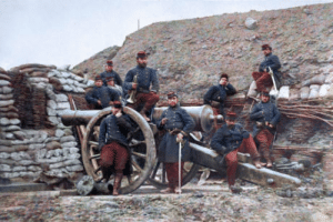 Club, Tumblr, and Blog: laughoutloud-club:  Colourised war photographs #19