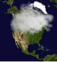 Club, Tumblr, and Blog: laughoutloud-club:  Current satellite picture of Canada.