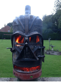 Club, Darth Vader, and Fire: laughoutloud-club:  Epic Darth Vader Fire Pit