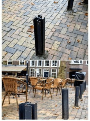 laughoutloud-club:  Got some lovely little poles here on a square in The Netherlands, the design feels a bit familiar though…: laughoutloud-club:  Got some lovely little poles here on a square in The Netherlands, the design feels a bit familiar though…