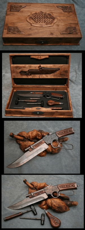 laughoutloud-club:  Winchester Knife-Pistol: laughoutloud-club:  Winchester Knife-Pistol