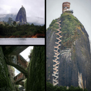 Club, Tumblr, and Blog: laughoutloud-club:  You have to climb 740 steps to reach this Colombian observation tower
