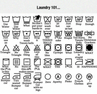 "Clothes, Laundry, and Tumblr: Laundry 101...  30 40 50 60  No don't Dont  What put your wash hot  Use  Still  o don't Ďon't 30 Just Stop Enough  ater Water  use  30 hot  ands in ever  70이  95이  Just Why Don't StopNOF*cks Stupid Too many No  BALLS  Tennis ℃hristmas  Balls Crackers  wash t TENNIS sake  30  Tennis balls  Triangle No This Less No Cyclops What Laundry wHAT  Triangle thing of Idea  this  stupid  What No None of The WHAT THE F*CK IS HAPPENING  this sht f*ck  makes sense  thef*ck  is this  Bumper swe Bumper Bumper z  Two Delux  car seated Bumper Bumper Zero Apathy Pinks French I  Clothes give  Car  with no  legs  Bumper Car  up  car <p><a href=""http://awesomesthesia.tumblr.com/post/171067025942/the-ultimate-laundry-guide"" class=""tumblr_blog"">awesomesthesia</a>:</p>  <blockquote><p>The Ultimate Laundry Guide</p></blockquote>"