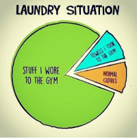 Who else? 😂 . Revamp your gym wardrobe with @doyoueven™ active wear. Take advantage of their Cyber Monday sale before it ends! 🌐✅: LAUNDRY SITUATION  STUFF WORE  A  NORMAL  TO THE GYM  CLOTHES Who else? 😂 . Revamp your gym wardrobe with @doyoueven™ active wear. Take advantage of their Cyber Monday sale before it ends! 🌐✅