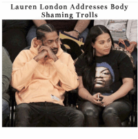 Memes, 🤖, and Lauren London: Lauren London Addresses Body  Shaming Trolls LaurenLondon addresses body shaming trolls! Swipe left to see what she had to say.