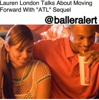"Complex, Definitely, and Love: Lauren London Talks About Moving  Forward With ""ATL"" Sequel  @balleralert Lauren London Talks About Moving Forward With ""ATL"" Sequel - blogged by: @ashleytearra ⠀⠀⠀⠀⠀⠀⠀ ⠀⠀⠀⠀⠀⠀⠀ Rumors about a sequel to the 2006 coming of age film, ""ATL,"" have been swirling for a while now. However, no one knows the exact status of the awaited project. The good news is, actress LaurenLondon recently revealed that a sequel is still in the works, and it is definitely something that everyone involved wants to happen. ⠀⠀⠀⠀⠀⠀⠀ ⠀⠀⠀⠀⠀⠀⠀ Although London, who portrays 'New New' Rashad's ( TI) love interest, didn't have many details regarding the project, she made it clear that it's certainly not off of the table just yet. ⠀⠀⠀⠀⠀⠀⠀ ⠀⠀⠀⠀⠀⠀⠀ ""I know that they are working on it, and I know that this is something that they are trying to push forward,"" London said in an interview with Complex, during their Sneaker Shopping series. ""I don't know so much. That would be a great T.I. question. But, what I do know is that, as much as the fans want it, we want it, too."" ⠀⠀⠀⠀⠀⠀⠀ ⠀⠀⠀⠀⠀⠀⠀ Are you ready for the ""ATL"" Sequel?"