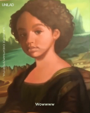 Dad, Dank, and Mona Lisa: LAURENCE CHEATHAM/STORYFUL This dad spent three months painting his daughter as the Mona Lisa to give her the ULTIMATE surprise! ❤️️🙌