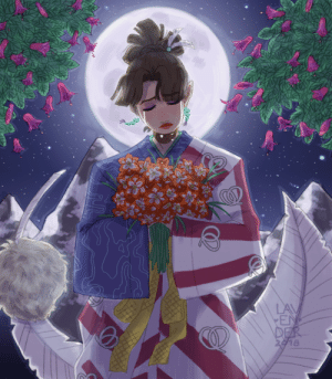 lavenderarts:  My work for an Inuyasha zine on Twitter from several months back. Still really happy with the way this turned out, the effort paid off!: LAV  EN  DER  2918 lavenderarts:  My work for an Inuyasha zine on Twitter from several months back. Still really happy with the way this turned out, the effort paid off!