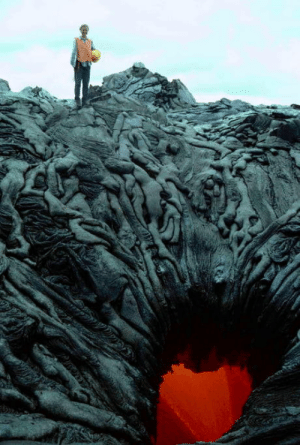 Lava pool? Or the gate to hell?: Lava pool? Or the gate to hell?