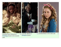 Wow, puberty really changed Lavender Brown. funnyfriday funnytumblr tumblr funny tumblrtextpost funnytumblrtextpost funny haha humor hilarious harrypotter harrypotterhumor funnyharrypotter: Lavender Brown attends an  Herbology lesson in her second  year  Lavender attends a  Divination lesson.  Lavender Brown in her sixth year Wow, puberty really changed Lavender Brown. funnyfriday funnytumblr tumblr funny tumblrtextpost funnytumblrtextpost funny haha humor hilarious harrypotter harrypotterhumor funnyharrypotter