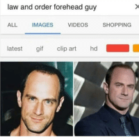 The forehead guy..💀😂😂: law and order forehead guy  ALL  IMAGES  VIDEOS  SHOPPING  latest gif clip art hd The forehead guy..💀😂😂