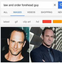 Not to be confused with eyebrows kid.: law and order forehead guy  ALL IMAGES VIDEOS SHOPPINGNEV  latest gif clip art hd Not to be confused with eyebrows kid.