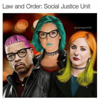 It was just a matter of time before a new Law & Order spin-off took up the SJW cause. LOL Coming Soon: Gender Pronoun Policing, Prosecuting Micro-Aggressions and more...: Law and Order: Social Justice Unit  @memegourmet It was just a matter of time before a new Law & Order spin-off took up the SJW cause. LOL Coming Soon: Gender Pronoun Policing, Prosecuting Micro-Aggressions and more...