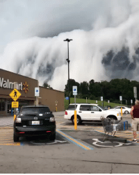 "Anna, Instagram, and Saw: lawful-evil-novelist:  celticpyro:  maureen2musings:  So this just happened! Scary clouds passing through Anna, Illinois iuriebelegurschiLicensed 🎥 video by Maranda Marie Benefield So anyone else here seen ""The Mist""?  All I could think of when I saw this…  This is so cool can someone explain the scientific phenomena behind this?  Just checked, this is a shelf cloud, a type of arcus cloud that usually signals the coming of severe weather.  This is actually fairly normal behavior for shelf clouds, I think it's just that the video is really close to the squall so it looks extremely ominous. Here are a few more examples of shelf clouds."