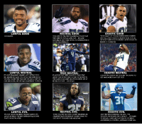 """Seattle Seahawks Alignment Chart: LAWFUL GOOD  GO HAWKS.  LAWFUL NEUTRAL  ITS JUST REMAINING HUMBLE, NOT GETTING TOO  BIG-HEADED BECAUSE YOU WON ONE SUPER BOWL.  TWEE STILL PLAYED THIS Y  EAR  LIKE WE HAD A CHIP ON  OUR SHOULDER, UKE WE HAD SOMETHING TO PROVE.  LAWFUL EVIL  ITS NOT ABOUT ME BEING THE BEST SAFETY. ITS  ABOUT ME BEING TI  HE BE  DEFENSIVE BACK  EVER  THAT'S WHAT IM AFTER.  NEUTRAL GOOD  YOU NEED TO TELL THE PHILADELPHIA POLICE THAT  THEY NEED TO PUT AN (APB) OUT BECAUSE  PER  SONATE A  GOOD QUARTERBACK.  TRUE NEUTRAL  IF ANYONE OUT THERE WANTS TO TALK CRAP  ABOUT OUR KICKER WHO IS ONE OF THE BEST  THE GAME U CAN ME  ME AT THE SWING S  ETAT  RECESS TO FIGHT  ON RYAN  NEUTRAL EVIL  WHEN YOU TRY ME WITH A SORRY RECEIVER LIKE  CRABTREE THATS THE RESULT YOURE GOING TO  GET. DON'T YOU EVER TALK ABOUT ME.  CHAOTIC GOOD  """"HOW MANY OF YOU MOTHERFUCKERS DOUBTED  US? Y ALL DIDNT WANT TO BELIEVEIN US. IT IS OK.  TWEE DONT NEED YOU TO  BELI  EVE. WERE  GOING TO  ELIEVE  N OURSELVES.  CHAOTIC NEUTRAL  I KNOW IM GONNA GET GOT BUT I'M GOING TO  GET MINE MO  RE  THAN I GET GOT  CHAOTIC EVIL  JUST HE  FEROCIOUSNESS,"""" HE SAYS. """"THE  VELOCITY THE POWER, THE CONTACT  ITS HARD  TO EXPLAIN. I JUST LIKE THAT FE  ELING OF BEING  AGGRESSIVE, IN CONTROL, INSTILLING YOUR WILL Seattle Seahawks Alignment Chart"""