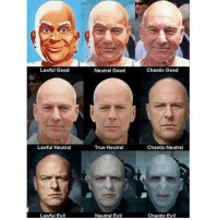 Herbron Ails shared this with us. It's kind of creepy in an awesome way. Plus I'm a gigantic Patrick Stewart fanboy. #baldisbeautiful: Lawful Good  Lawful Neutral  Lawful Evil  Neutral Good  True Neutral  Neutral Evil  Chaotic Good  Chaotic Neutral  Chaotic Evil Herbron Ails shared this with us. It's kind of creepy in an awesome way. Plus I'm a gigantic Patrick Stewart fanboy. #baldisbeautiful