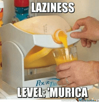 Taking laziness to the next level.  http://www.memecenter.com/fun/1137049/laziness-level-murica: LAZINESS  LEVEL- MURICA  meme Center Com Taking laziness to the next level.  http://www.memecenter.com/fun/1137049/laziness-level-murica