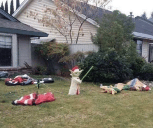 Lazy way to win at Christmas decorating: Lazy way to win at Christmas decorating