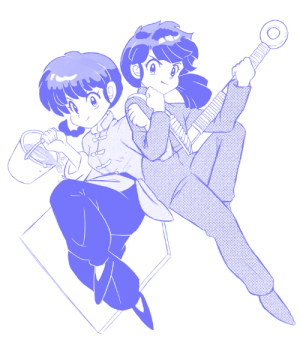 lazydayztoonz: The cutest girl and the cutest boy!!! But which one is which…!? Ranma ½ sketch. Been rereading the series again, and gotta say…still love it T__T : lazydayztoonz: The cutest girl and the cutest boy!!! But which one is which…!? Ranma ½ sketch. Been rereading the series again, and gotta say…still love it T__T